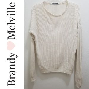 Brandy Melville - White Sweater